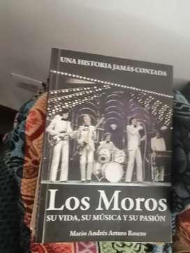 Libro  los moros grupo argentino 60.s años