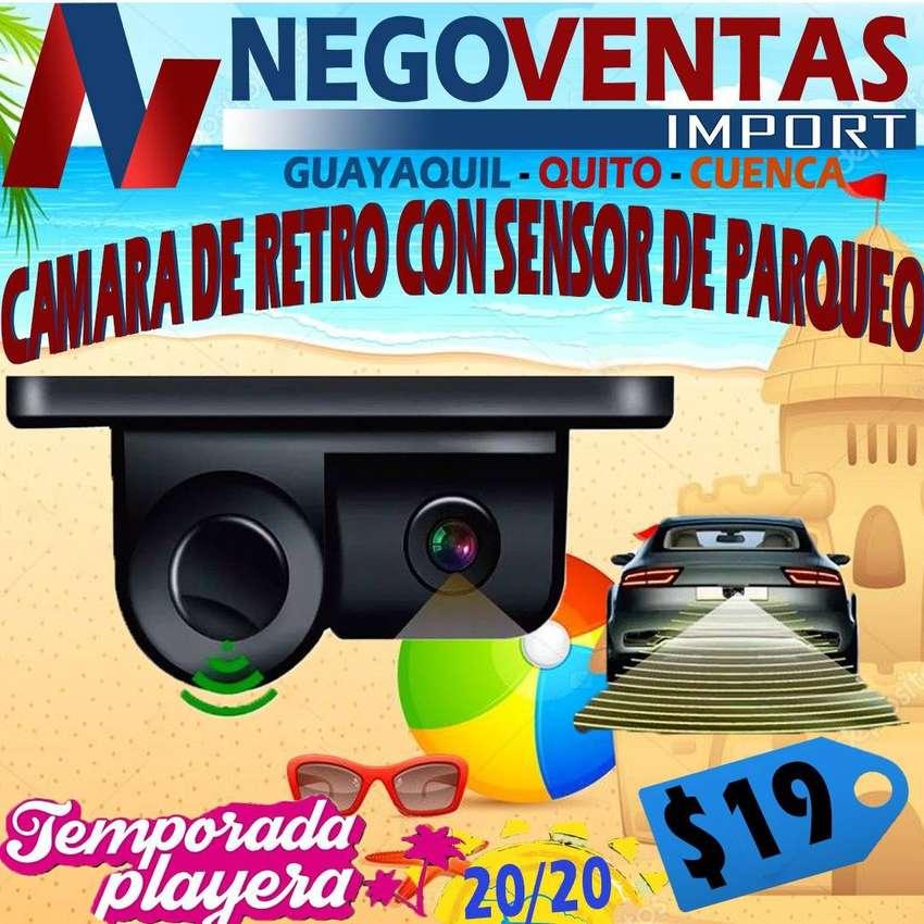CAMARA DE RETRO CON SENSOR DE PARQUEO PARA CARROS 0