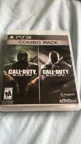 Call of duty Black ops y el Call of duty Black ops 2
