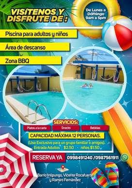 Alquiler de piscina privada