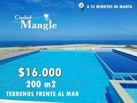 FINANCIAMIENTO DIRECTO LOTES DE 200M2 (10M X 20M) ADMIRA EL MAR DESDE TU CASA DE DESCANSO - MANABI SD2