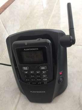 Microtelefono Inalambrico con Diadema