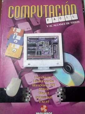 Libro computación fácil y al alcance de todos