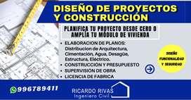ELABORACION DE PLANOS PARA CONSTRUCCIÓN