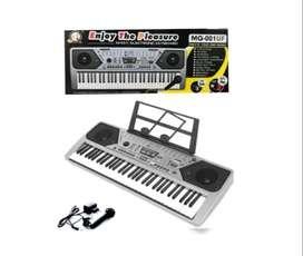 Organeta, Piano, Teclado 61 Teclas, Mp3 + Usb + Radio Fm