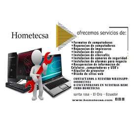 Hometecsa ofrece servicios tecnicos