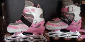 Patines Rollers + accesorios