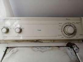 Vendo lavadora usada whirlpool