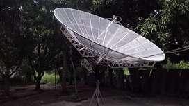 Venta de antena parabólica de 3:30 mts d diámetro totalmente nueva