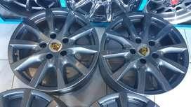 4 Aros Para Porsche Originales Made in Germany 5 Huecos 130mm iTyres