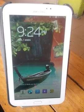 Samsung Tab 3 de 7 pulgadas 1 de ram batería nueva pantalla buen estado