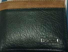 Vendo una billetera nuevo bossi