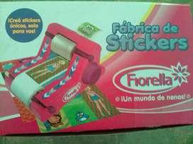 Maquina de hacer stickers Fiorella un solo uso