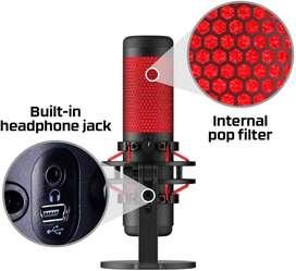 HyperX QuadCast - Micrófono de condensador USB PC, PS4 y Mac