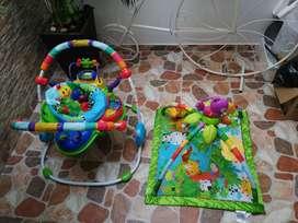 Gimnasio y Saltarin para Bebé. GRAN COMBO!!