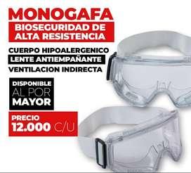 Monogafas Gafas Bioseguridad Con Resorte