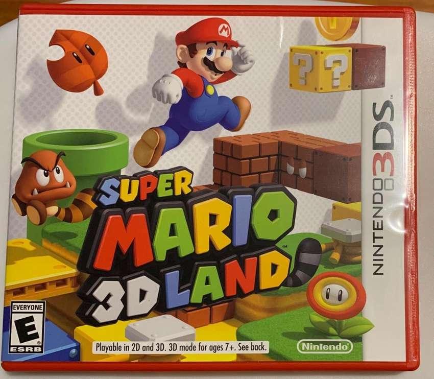 Super Mario 3D Land Nintendo 3Ds 0