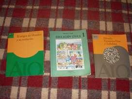 LIBROS DE EDUCACION CIVICA Y FILOSOFIA FORMACION ETICA Y CIUDADANA