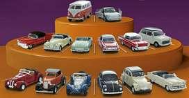 Colección 20 Autos Clásicos Escala 1:43