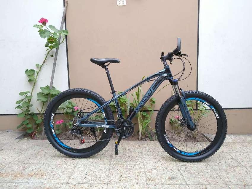 Bicicleta Mtb Aluminio Aro 26 Newspeed 0