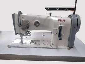 Máquina de cocer alemana Industrial triple transporte Pfaff - Muy buen estado