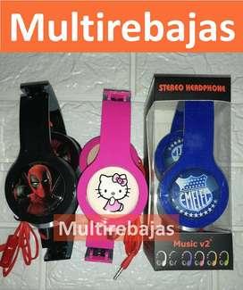 Audifonos Para Niños Auriculares De Regreso Clases Virtuales