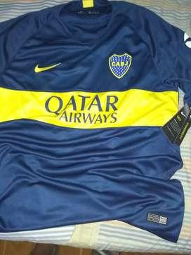 Camiseta de Boca Jrs.  Titular  Nike