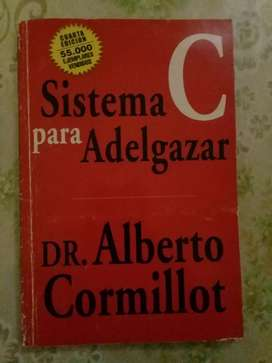 """LIBRO DE ALBERTO CORMILLOT """"SISTEMA PARA ADELGAZAR """""""