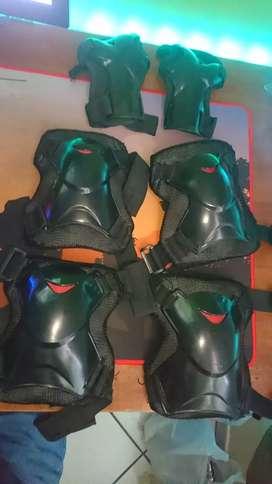 Protección skate kit completo + estuche