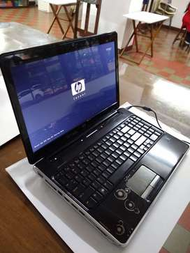 Portátil negro HP