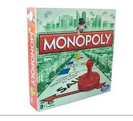 Monopoly Hasbro Gaming Juego Monopolio Entrega Rápido