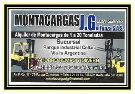 MONTACARGAS J.G FUNZA S.A.S Alquiler y Venta de Montacargas Funza, Mosquera, Madrid