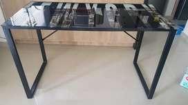 Mesa en vidrio templado Escritorio Oficina