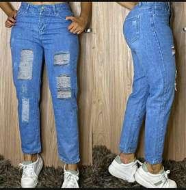 Jeans Boyfriend rígido disponibles en todas las tallas