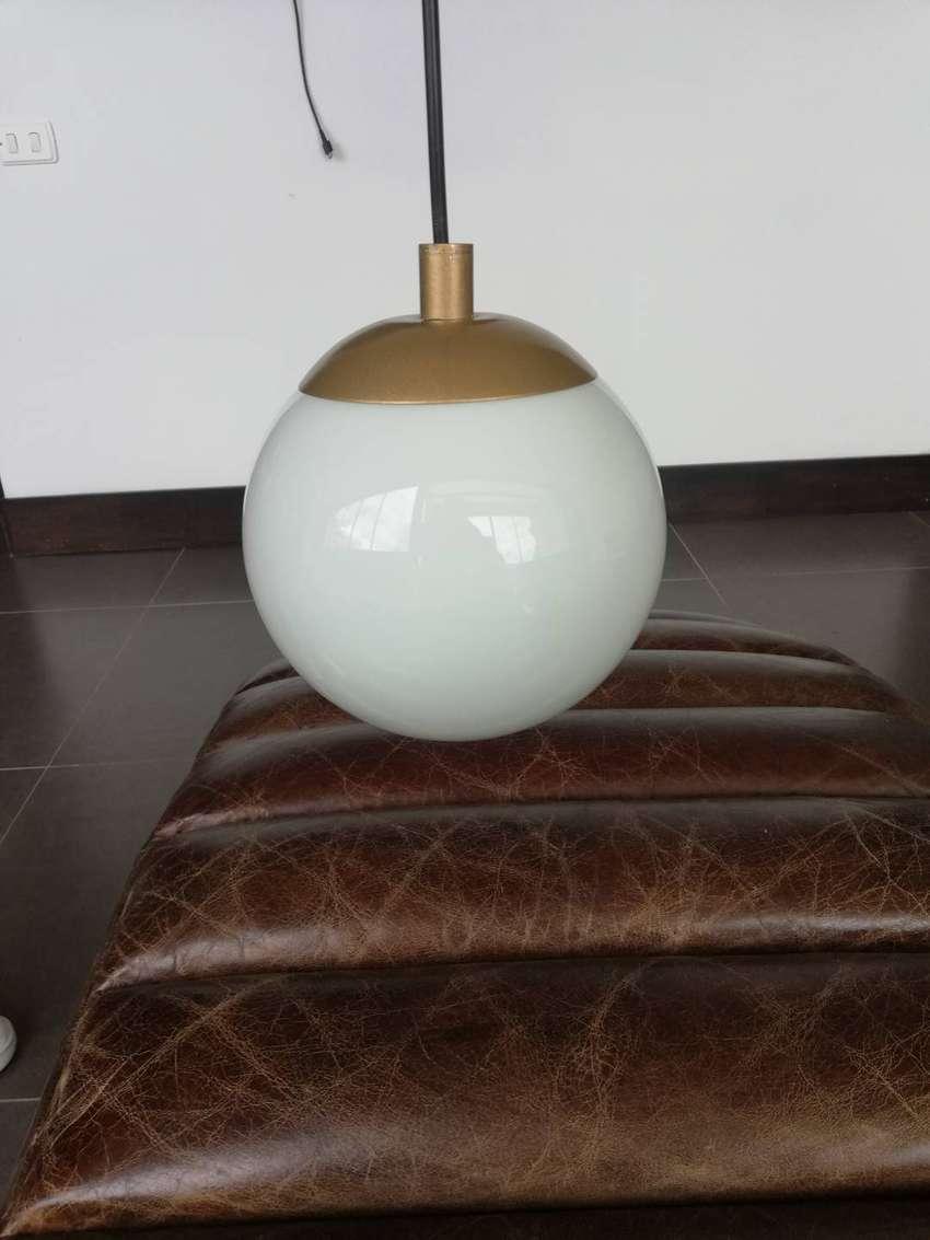 Lámpara Colgante Diseño De Globo Nueva