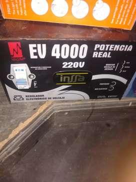 Cambio o vendo Elevador regulador de voltaje a 220v de 4000w marca magoon original, poco uso como nuevo