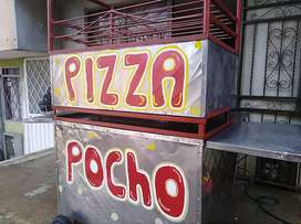 Carro de pizza