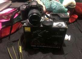 Venta de camara Nikon D3400 estado 10/10