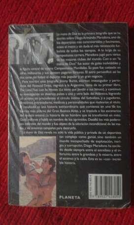 Libro La Mano De Dios, La Vida De Diego Maradona