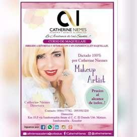 Curso de Makeup Artist (Maquilladora profesional)