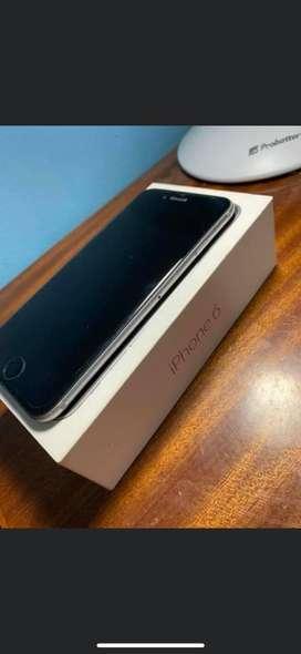 lphone 6 com accesorios en caja
