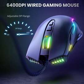 MOUSE ONIKUMA 905 Cool Gaming Mouse NEGRO
