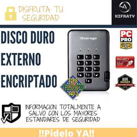 Disco Duro Encriptado 3TB DiskAshur PRO2 256-bit USB 3.1 FIPS Nivel 3 Certificado