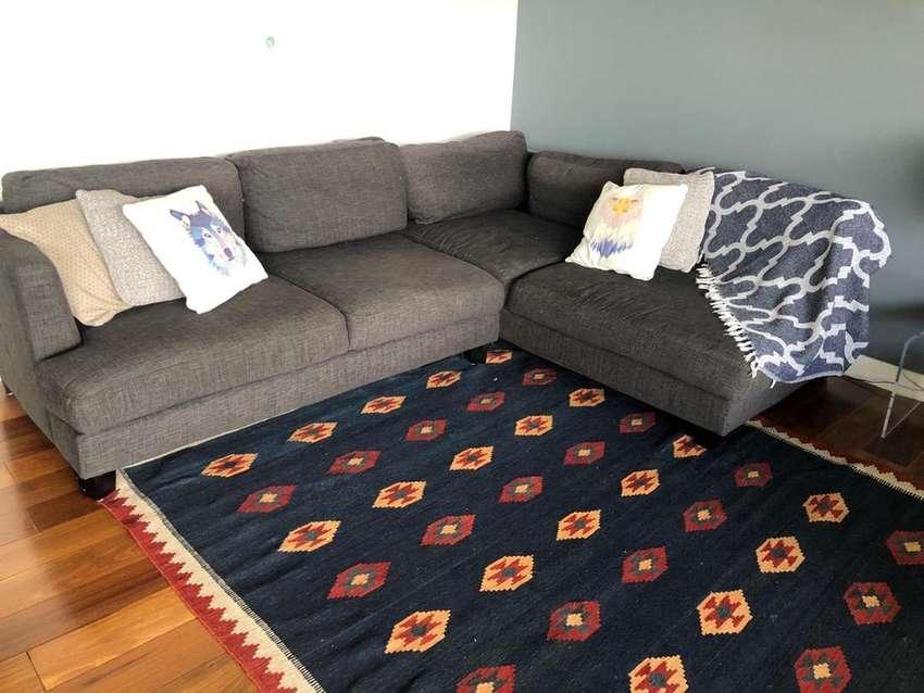 Vendo tapete kilim de segunda