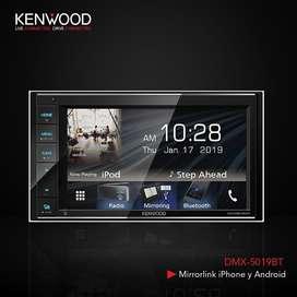 RADIO KENWOOD DMX-5019BT MIRRORLINK PARA ANDROID Y IOS