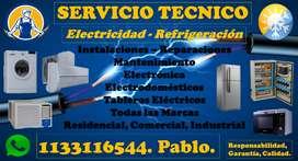 REFRIGERACION Y ELECTRICIDAD.