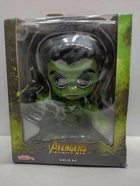 Figura Hulk Cabeza Booble ( Rebotante )