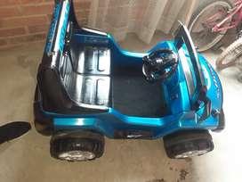 Carro de batería para niño manual y con control remoto