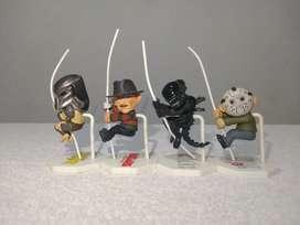 Muñecos colección de los personajes de terror