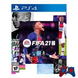 FIFA 21 Ps4 Físico